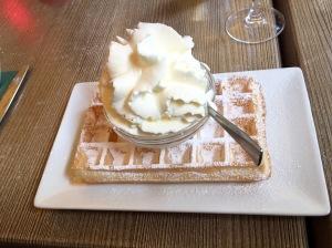 Best Belgium waffle ever!