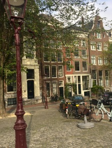 Smallest house in Amsterdam wedged in here