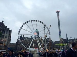 Dam square by day