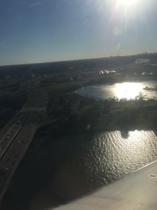 Land ho! A picture perfect day to flight into D.C.